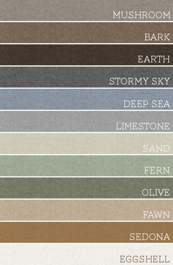 Take any set of 3 of these colors and each room would be for Good neutral paint color for whole house