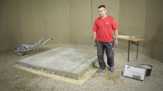HOLCIM beton alap készítése HU