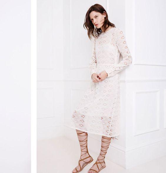 Zara se casa de blanco con el color de la primavera (via Bloglovin.com )