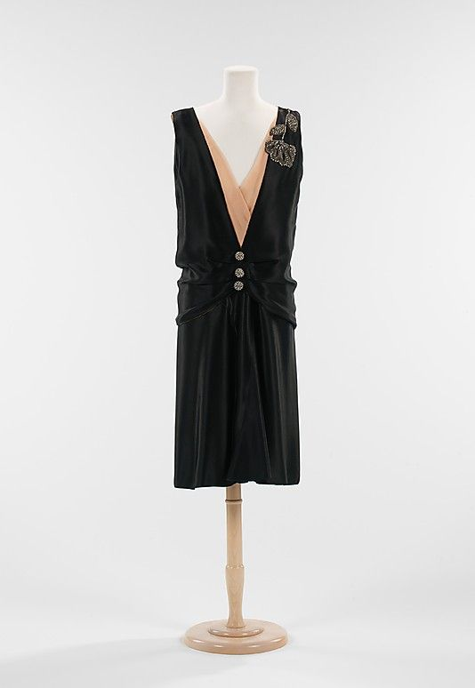 Evening Ensemble 1927, French, Made of silk