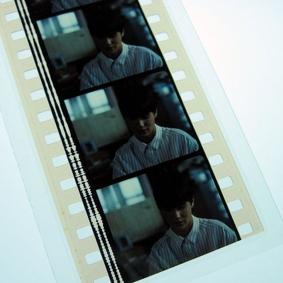 Ghost Bookmark  Recycled 35mm Film Strip by StalkingMarla on Etsy