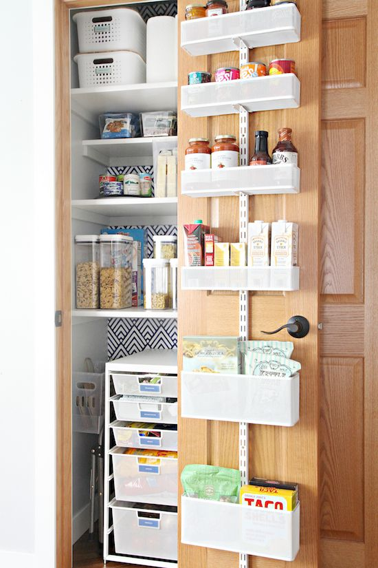 My Favorite Tips For Organizing A Deep Pantry Deep Pantry Organization Deep Pantry Kitchen Hacks Organization