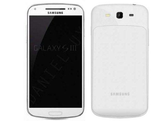 Is dit de nieuwe Samsung Galaxy S3?