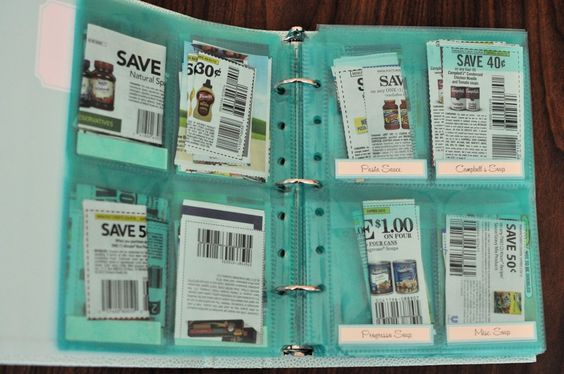 Coupon Organization with Martha Stewart Home Office | Laughter and Grace