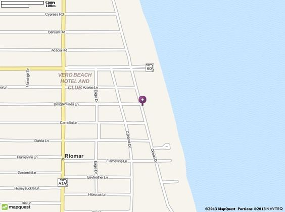 Driftwood Resort,  3150 Ocean Dr, Vero Beach, FL 32963 Directions, Location and Map | MapQuest