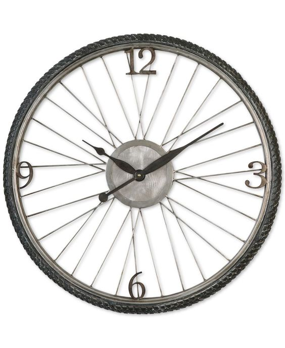 Uttermost Spokes Clock