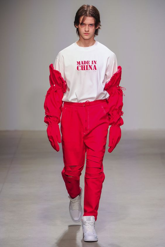 Feng Chen Wang Menswear Spring Summer 2018 New York