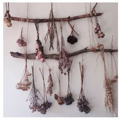The Aries Witch ♈ Herb, flower , plant drying rack - Wicca - pagan - witchcraft