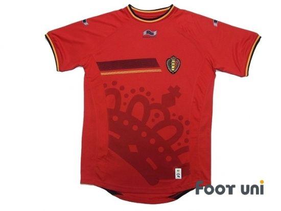 Belgium 2014 Home Shirt W Tags Retro Football Shirts Soccer Shirts Vintage Football Shirts