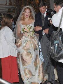 Hochzeit Maria Theresia von Thurn undn Taxis | Bild: dpa-Bildfunk