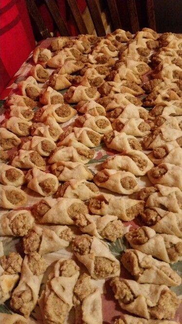 Nut roll cookies!