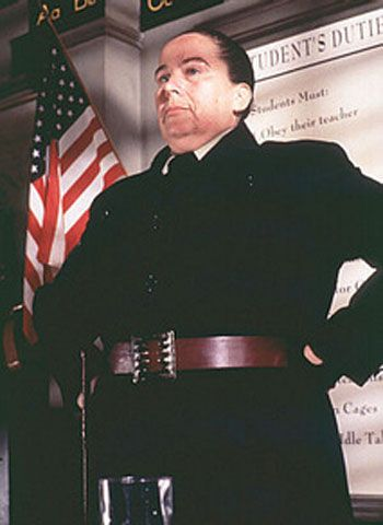 Ms. Trunchbull was rocking the belted tops before it was cool? Not that I know when it started getting cool....