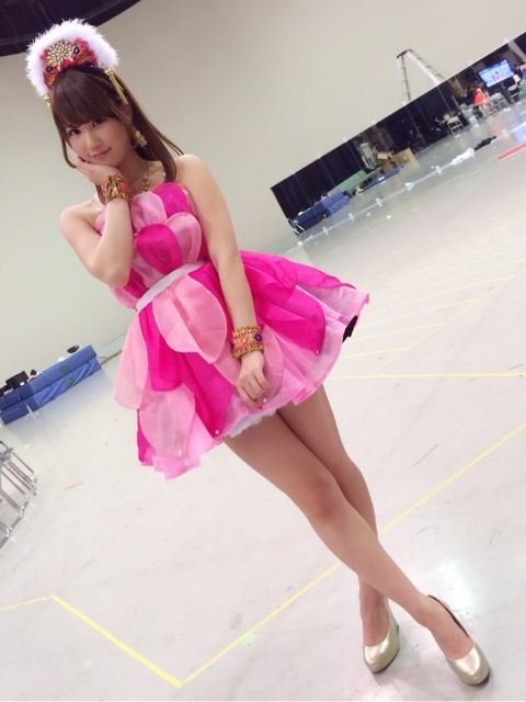 Mariya Suzuki, from her blog