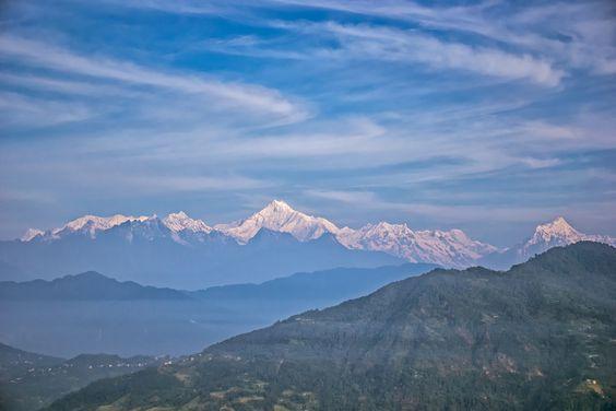 Mesmerizing #Kanchenjunga ... - Zuluk, #Sikkim