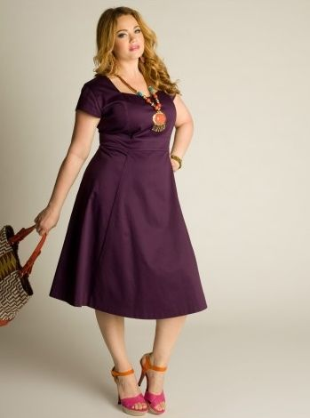great site for sewing ideas for plus size ladies | sewing dresses ...