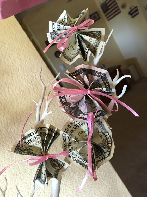 Pinterest Baby Shower Money Tree