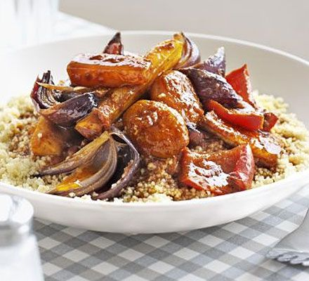 Five-a-day tagine - a spicy and sweet winter warmer which lasted 3 days...an easy heat up meal after a long day at work.