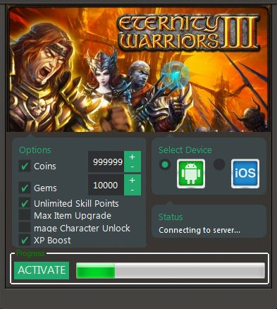 Eternity Warriors 3 Hack Cheats Download. This is the only working free tool for EW3. >>CLICK THE IMAGE TO VISIT THE DOWNLOAD SITE<<
