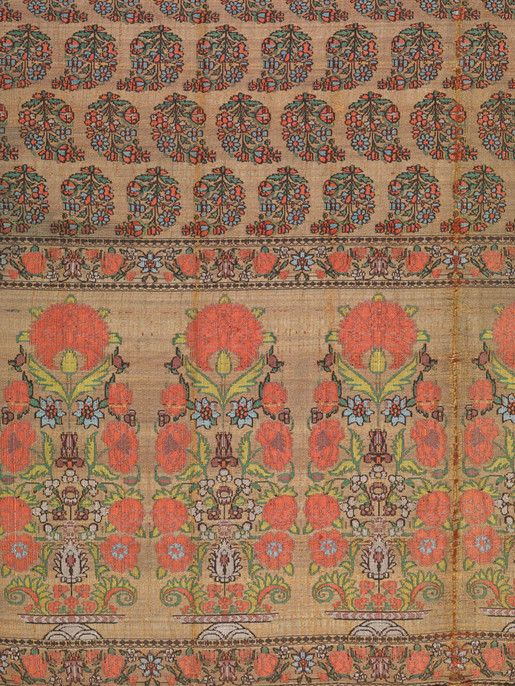 Sash (patka) – Objects - RISD MUSEUM, 17th - 18th Century, Persian; Indian