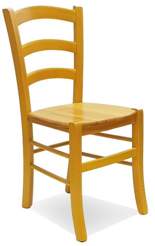 Sedie in legno per ristorante pub pizzeria con seduta legno ...