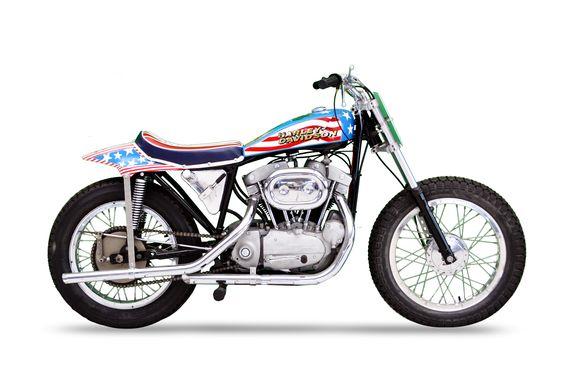 Evel Knievel Harley Auction: 1970 Harley-Davidson Sportster