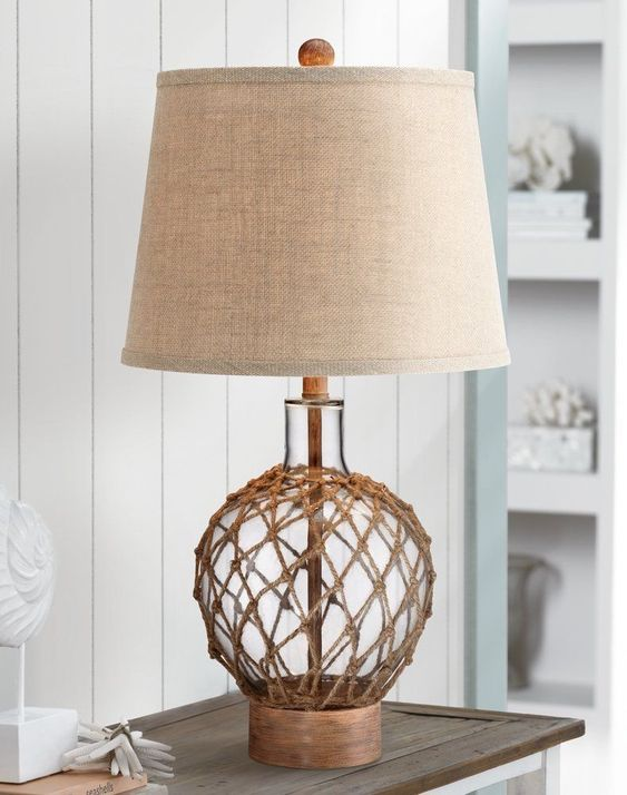Best Nautical Lamps Beach Lamps And Nautical Lighting Fixtures Shop Coastal Lighting For Your Beach Home Today Nautical Lamps Table Lamp Lamp Shade Finials