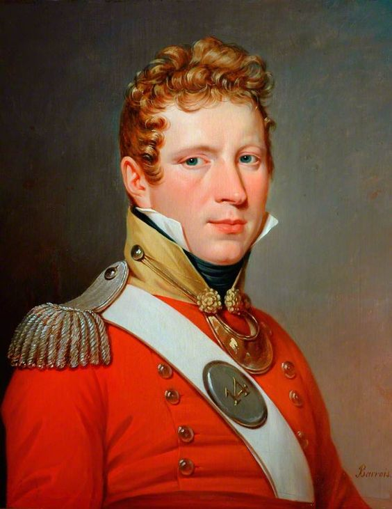 1816  An Officer of the 3rd Battalion, the 14th Regiment of Foot, Army of Occupation, Paris.   bbc.co.uk: