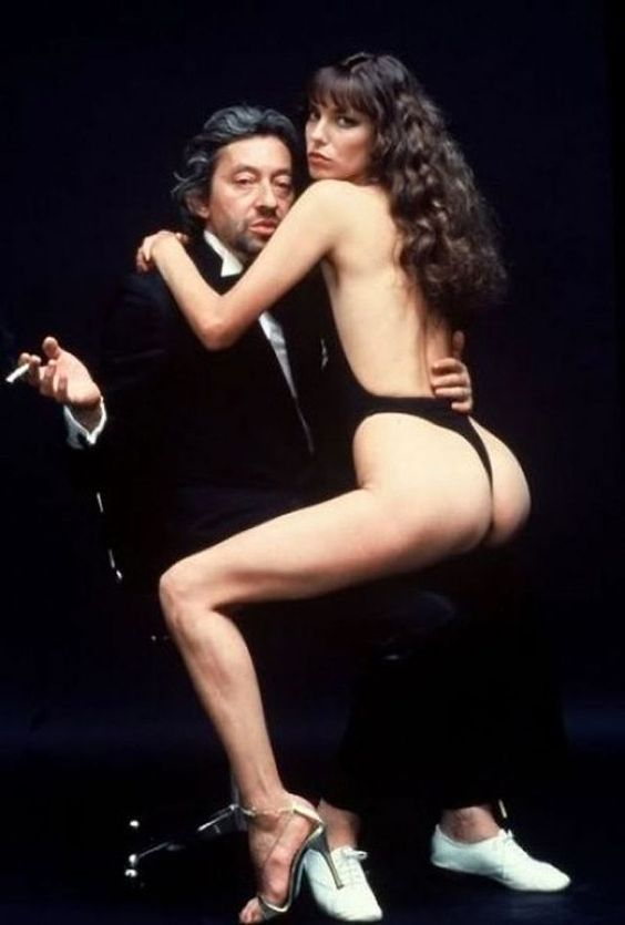 15 Amazing Portrait Photos of Jane Birkin and Serge Gainsbourg in the 1970s ~ vintage everyday