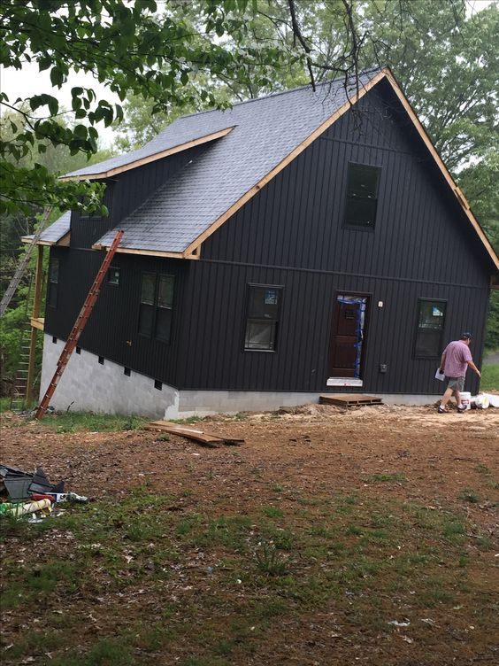 13 Divine Board Batten Siding Ideas To Steal Everybody S Attention Exterior House Siding House Siding Exterior Siding