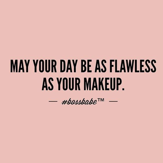 Funny And Cute Makeup Quotes