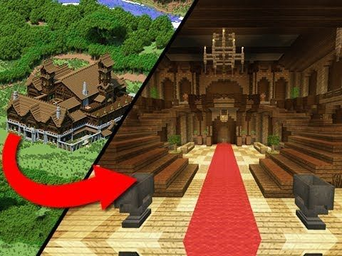 Building The Interior Of A Mansion By Jeracraft In Youtube