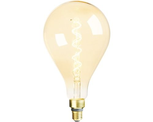 Led Lampe A165 Dimmbar E27 5 5w Gold 300 Lm 2000 K Homelight 820