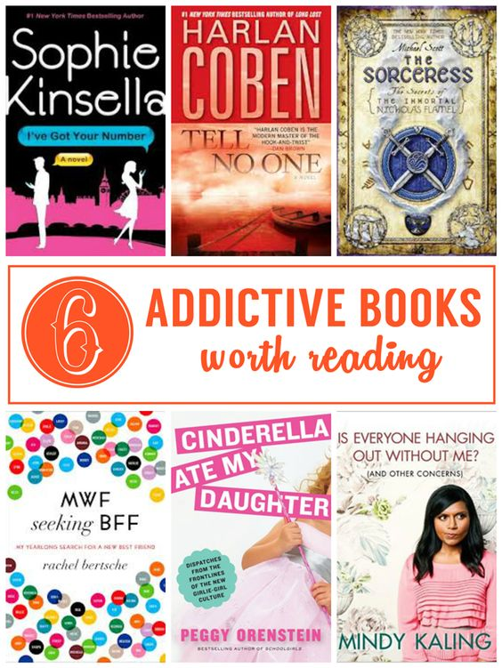 6 ADDICTIVE BOOKS WORTH READING - FICTION & NONFICTION