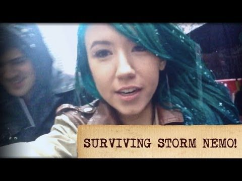 Surviving Storm Nemo!  #Kalel Cullen and Anthony padilla