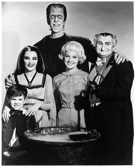 Los Monster,serie De Tv Años 60 Y 70.