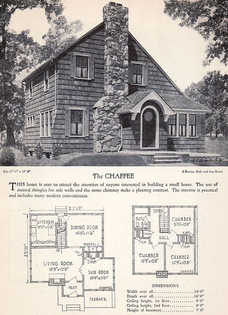 1928 Home Builders Catalog - The Chaffee