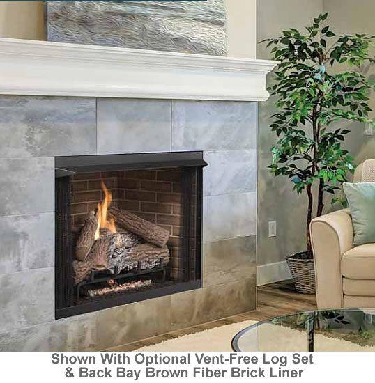 Superior Fireplaces 36 Vent Free Firebox Superior Fireplace Brick Fireplace Makeover Fireplace Remodel