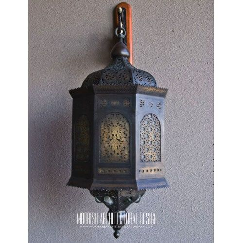 Moroccan Outdoor Wall Light Moroccan Lanterns Moroccan Lighting Patio Wall