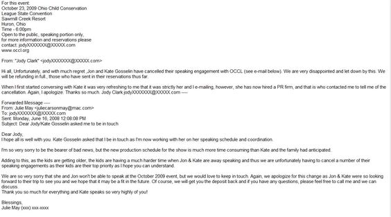 Another Example Their Cancellation Letter Graciously Provided For