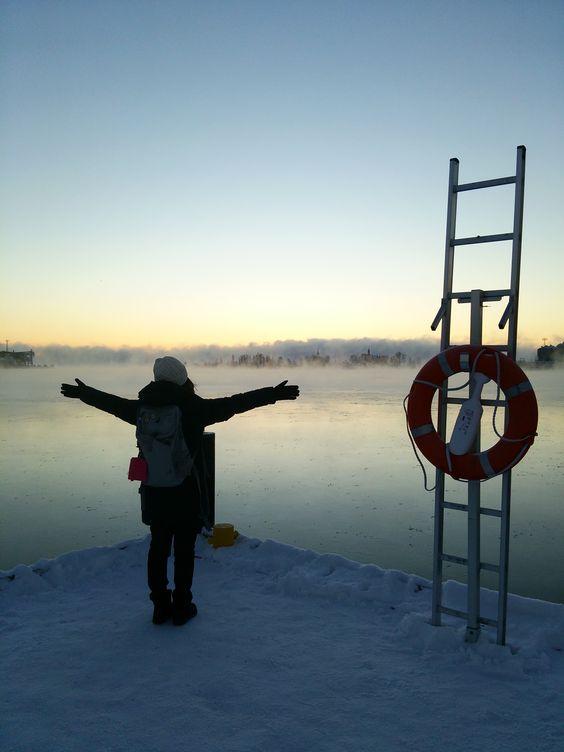 北欧での服装 冬のフィンランドで何を着たらいいの スマホやカメラの