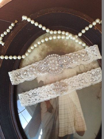 Hey, I found this really awesome Etsy listing at https://www.etsy.com/listing/169659918/sale-wedding-garter-ivory-lace-garter