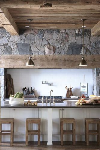 17 best images about wood stone turquoise yellow for Rustic yellow kitchen