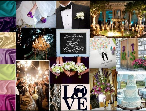 Share your inspiration collage and learn how to make them! « Weddingbee Boards