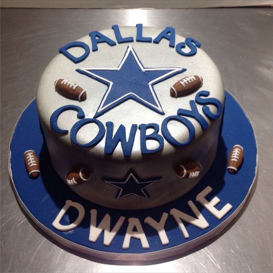 Dallas Cowboys Cake