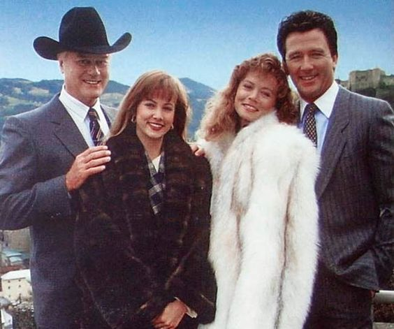 J.R., Cally, April and Bobby