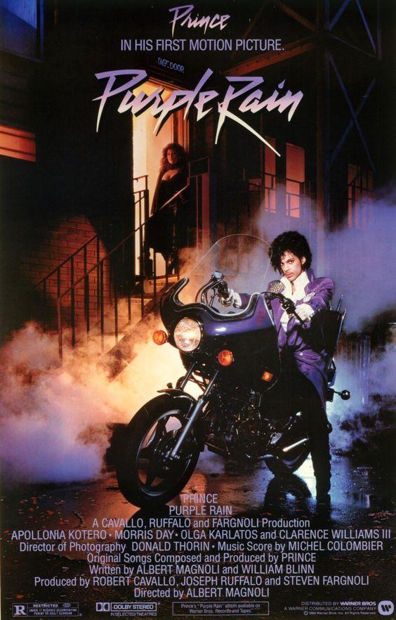purple rain | Purple rain (1984) - Les affiches du film