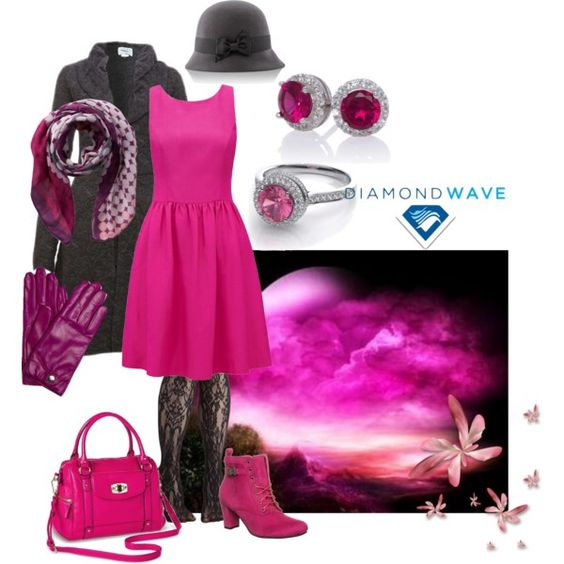 """Pink fantasy - II"" by maria-kuroshchepova on Polyvore"