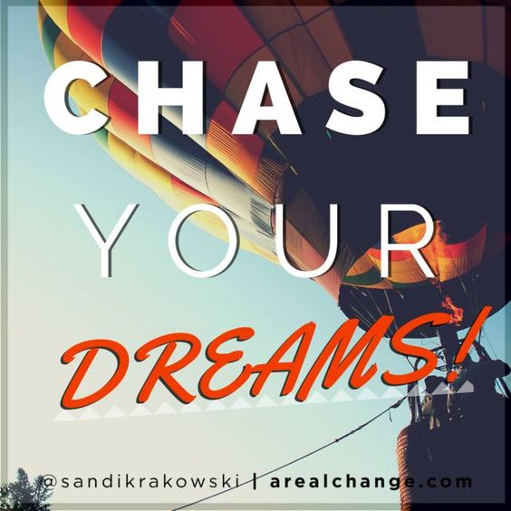 Some dreams God has put in our heart can be exciting & terrifying! You must keep going or you'll be miserable later!
