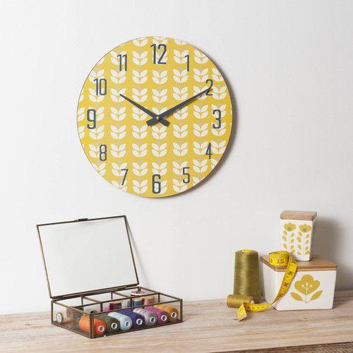 horloge en bois molly vintage maisons du monde dco pinterest vintage. Black Bedroom Furniture Sets. Home Design Ideas