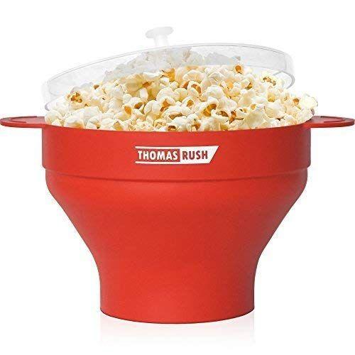Microwave Popcorn Maker By Thomas Rush Orange Microwave Popcorn Maker Best Popcorn Microwave Popcorn